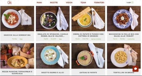 sito CUC-ricette della settimana