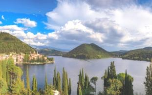 Lago di Piediluco-panorama