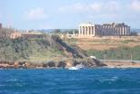 Vista Selinunte dal mare