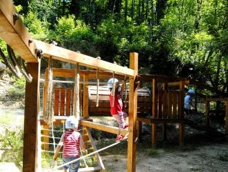 Parco Adrenalina Verde- parco giochi bimbi