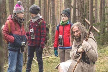Ötzi e il mistero del tempo-Ötzi e i ragazzi