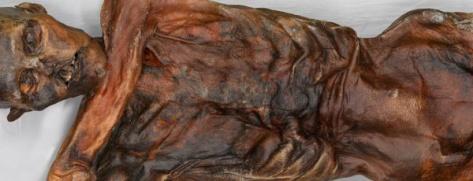 Ötzi e il mistero del tempo-la mummia