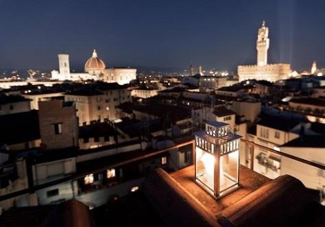 Dormire a Firenze- Hotel Torre Guelfa- vista