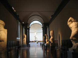 Firenze con i bambini galleria dell'Accademia
