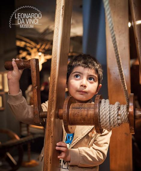 Firenze con i bambini Museo Leonardo