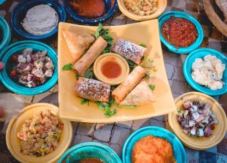 Marocco- cibo e spezie