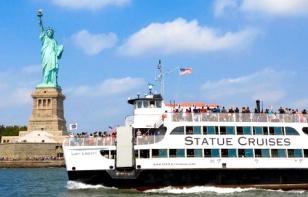 Viaggio a New York per famiglie-Battello-Statua della Libertà -Ellis Island